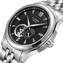 RUIMAS Reloj Hombre Men Luxury Mechanical Watch Top Fashion Men Business Wrist Watches Male Clock Automatic Movement MIYOTA 82S5 цена 2017