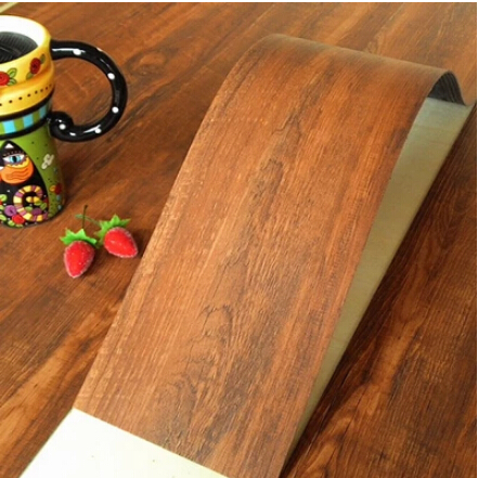 Self Adhesive Floor Tile Do It Yourself Diy Wood Finish