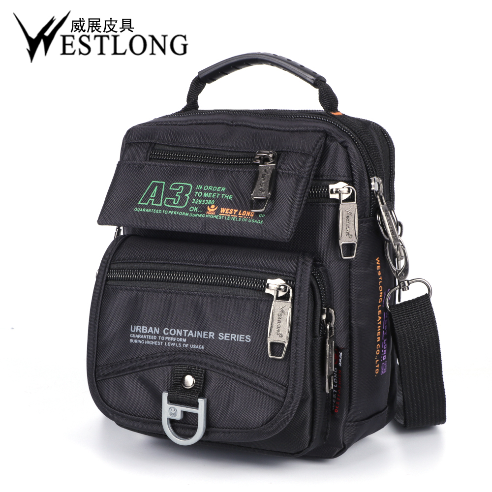 Small Travel Trailers Ultralight: New 3705W Men Messenger Bags Casual Multifunction Small