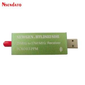 Image 2 - USB 2.0 RTL SDR 0.5 PPM TCXO RTL2832U R820T2 25MHZ à 1760MHZ récepteur de télévision AM FM NFM DSB LSB SW Radio SDR récepteur de télévision