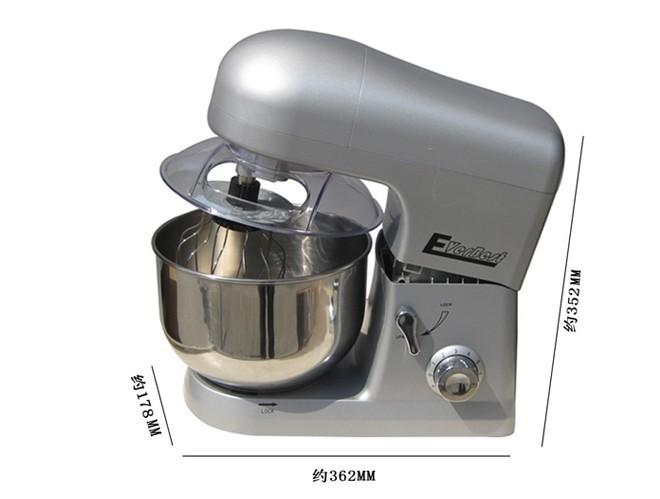 бесплатная доставка Commerce использования viscosity автоматическая муки блендер миксер для теста 5л пищевой текстильной машина