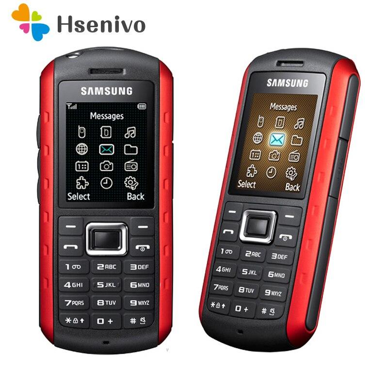 B2100 Оригинальный разблокированный Samsung B2100 xplorer 1000 мАч 1.3MP 1,77 'inch 3g водонепроницаемый Восстановленный телефон Восстановленное Бесплатная дос...