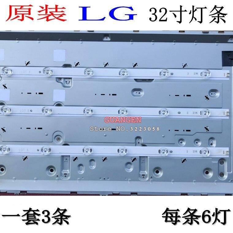 Tira retroiluminação LED para LG INNOTEK DRT 3.0 32