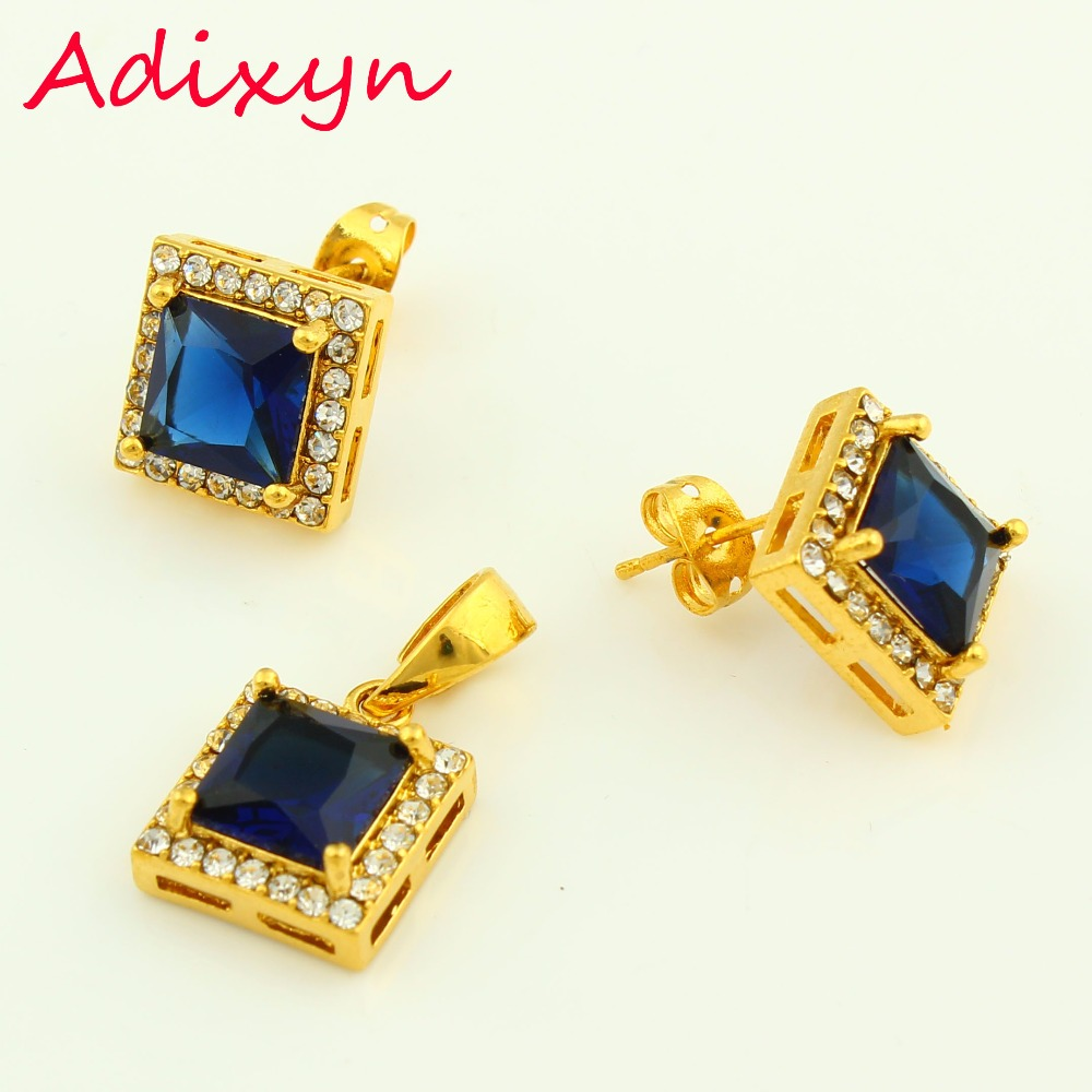 Aliexpress buy adixyn dubai jewelry set for women gold color aliexpress buy adixyn dubai jewelry set for women gold colorcopper cubic zirconia necklaceearringpendant middle easter wedding gifts from reliable negle Images