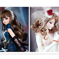 NEW Wig BJD Doll DIY High-Temperature Wire Handmade Curly Wigs Hair Curls Row,Novelty Doll Accessories 5 Piece