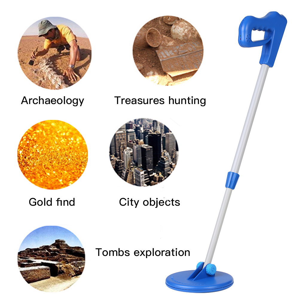 Kids Metal Detector - Waterproof & Lightweight, Gold Digging Treasure Hunt tool 1