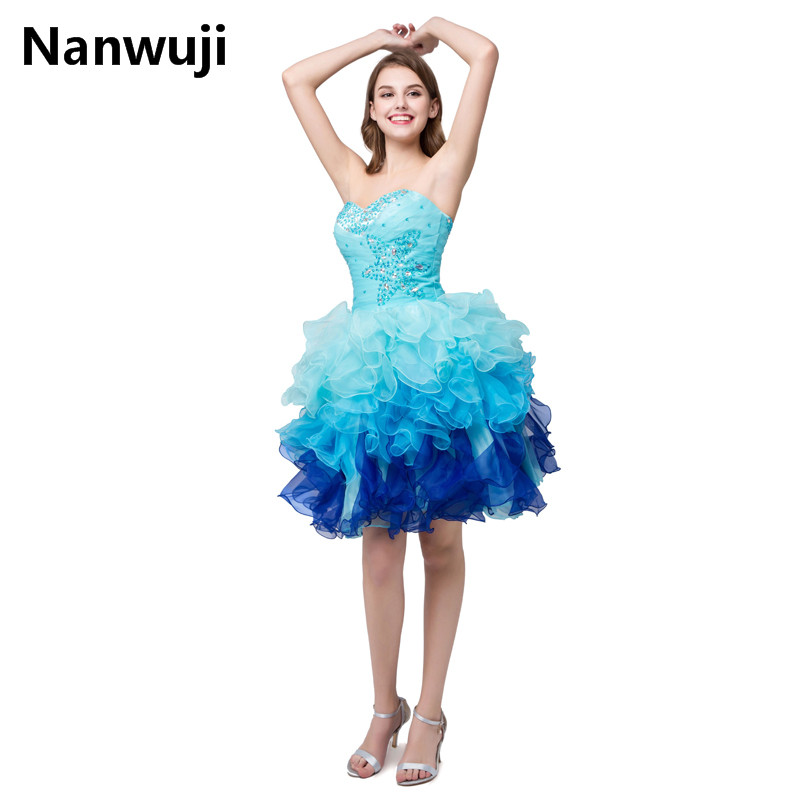 In stock fast shipping cheap colors white/royal/sky blue cute short ...