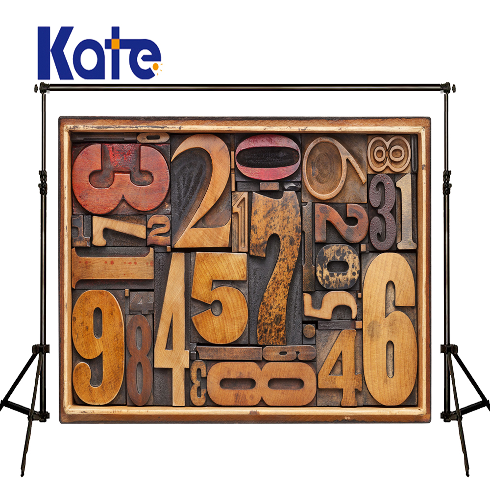 Kate Photo Background Wood Letter Wall Backdrop Newborn Photography Background Wood Floor Wall Photography Backdrops for Studio