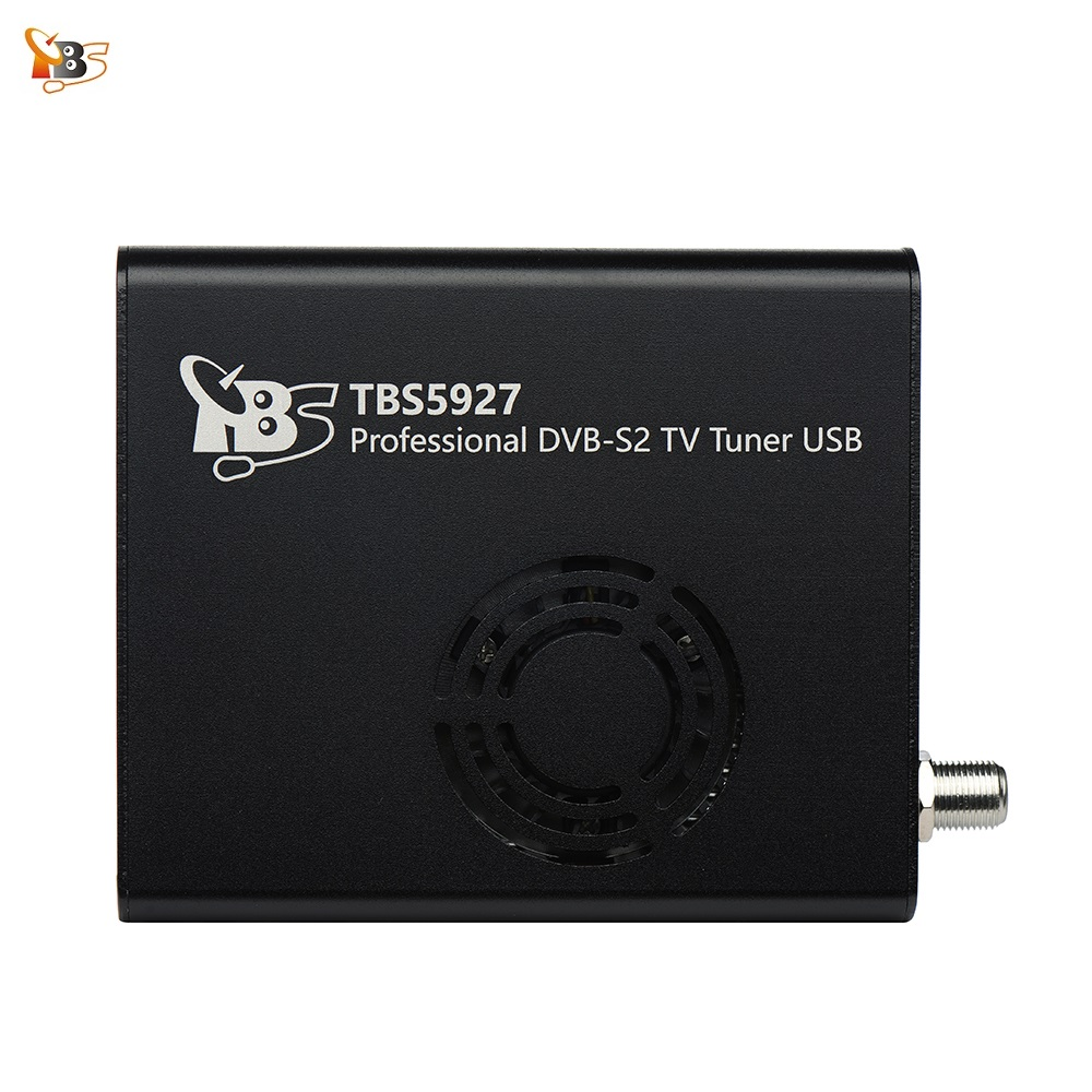 Best Digital Satellite TV Receiver TBS5927 Professional DVB-S2 TV Tuner USB Box Supports VCM CCM ACM 32APSK  Blindscan