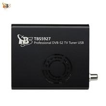 Best Digital Satellite TV Receiver TBS5927 Professional DVB-S2 TV Tuner USB Box Supports VCM CCM ACM 32APSK  Blindscan
