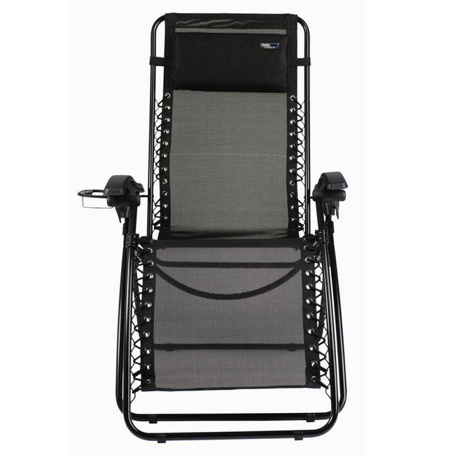 Travel Chair Lounge Lizard Model - Black lizard сандали hike 36 feel black grey