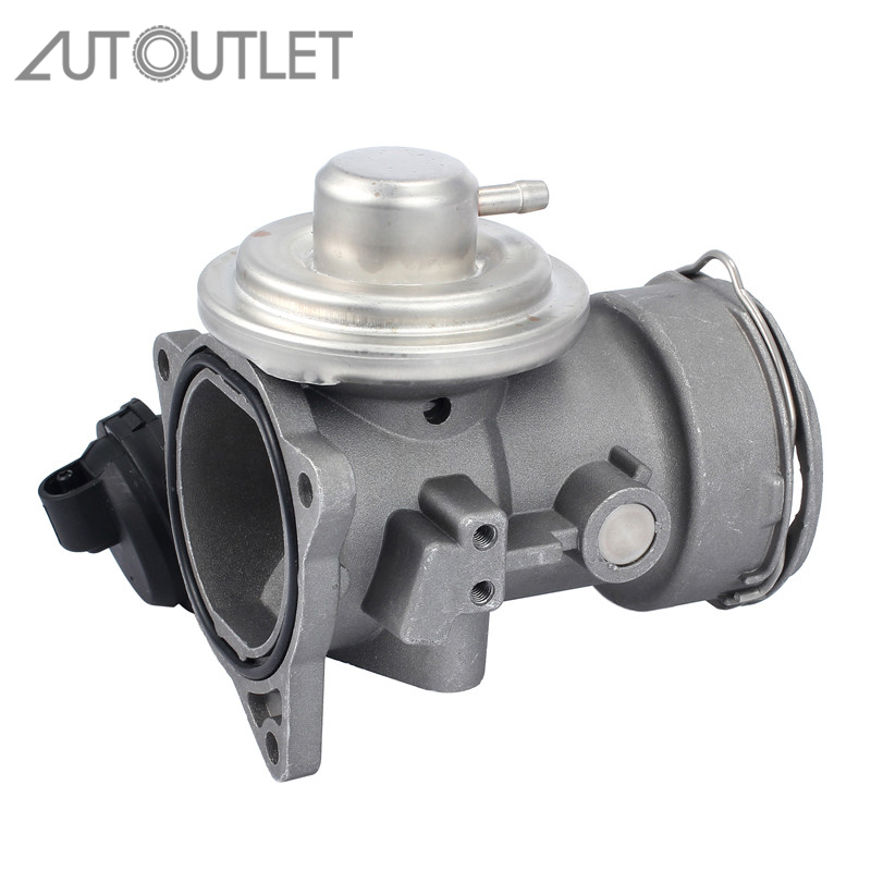 AUTOUTLET EGR Valve With Seal 1M219D475AA 6M219D475AA 038131501J For VW MULTIVAN T5 BUS PASSAT 3B 3BG BJ 00 09 FORD SEAT VAG
