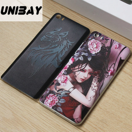 imágenes para Xiaomi mi 5 caso 3D Relief xiaomi mi5 Caja de batería Para Reemplazo de La Batería Contraportada xiaomi Xiaomi mi5 mi5 caso de la cubierta de plástico