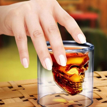 Skull Transparent Crystal Glass