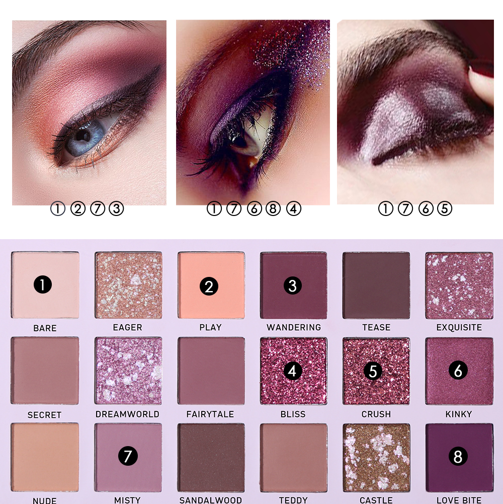 Back To Search Resultsbeauty & Health Capable Beauty Glazed Matte Shimmer 9 Colors Eyeshadow Palette Glitter Glow Kit Waterproof Eyes Cosmetics