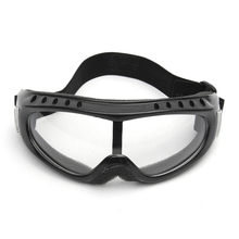 bbff44ac58 Transparente unisex Gafas de protección motocicleta Ciclismo protección  ocular Gafas Tactical viento polvo gafas