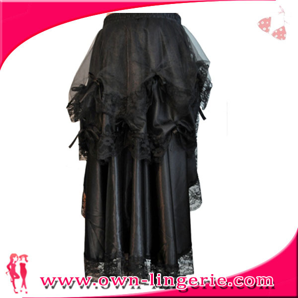 Бесплатная доставка Женская дешевая длинная Коктейльная танцевальная юбка Продажа онлайн, бесплатная доставка черная шелковая кружевная