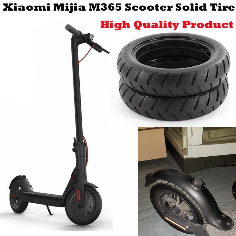 Xiaomi Mijia M365 Scooter neumático sólido monopatín ruedas de neumáticos 8 1/2X2 para Xiaomi patín eléctrico evitar neumático actualización