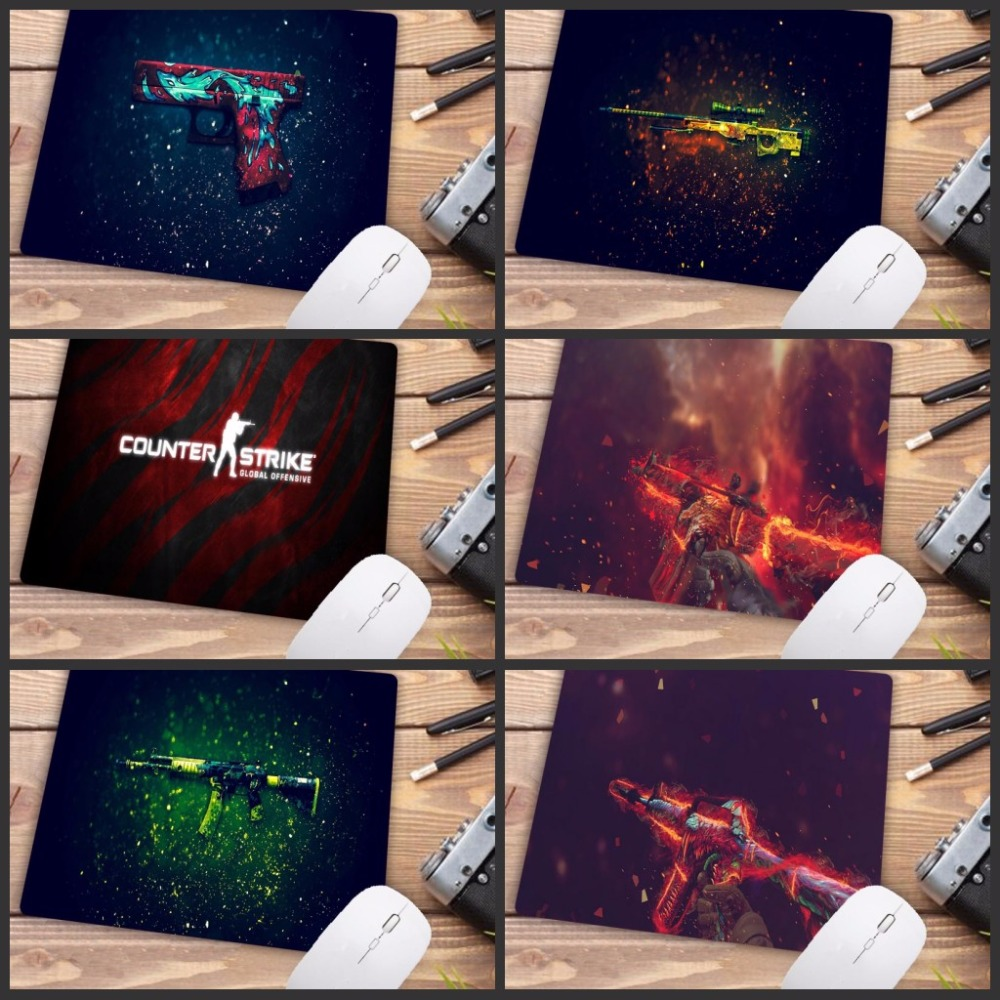 Big Promotion CSGO Counter Strike Ultimate Gaming Mousepad Natural Rubber Gamer Mouse Mat Pad Game Computer Desk Pad image
