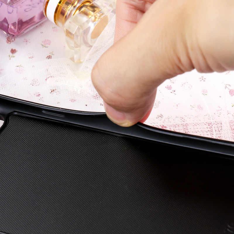 سيليكون لينة الأسود السائل الرمال المتحركة غطاء ل فون 7 حالة كوكه ل أبل فون XR X XS ماكس SE 5 5 S 5G 55 S 6C 7 زائد حالة