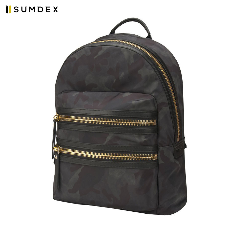 Laptop Bags & Cases Sumdex SUMLEGreenGold for laptop portfolio Accessories Computer Office for male female coupon soild brown good leather zefer male handbag man laptop business office working briefcase shoulder bag metal lock letter
