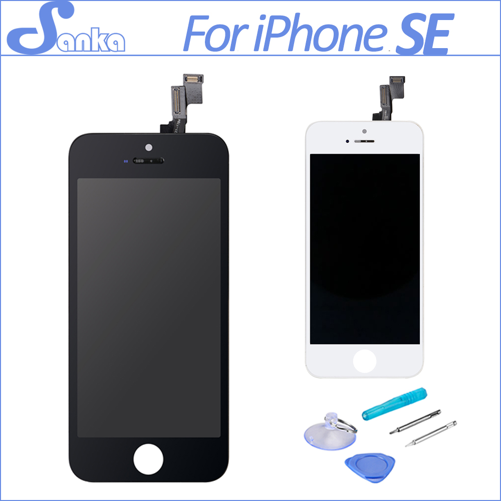 Sanka para for apple iphone se lcd display digitizer touch for Screen ecran