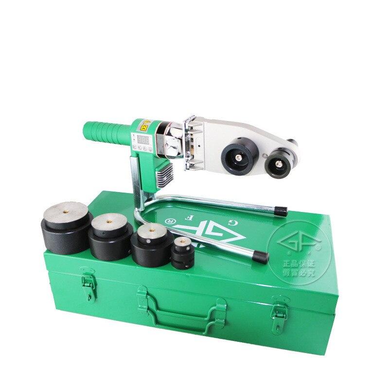 Welding equipment Digital Display PPR/PE/PVC/PB welding machine  PVC welding machine AC 220V 1000W 20-63mm plastic welder