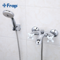1 Set Elegant Style Bath Faucet Cold And Hot Water Mixer Ceramic Two Handle F3018