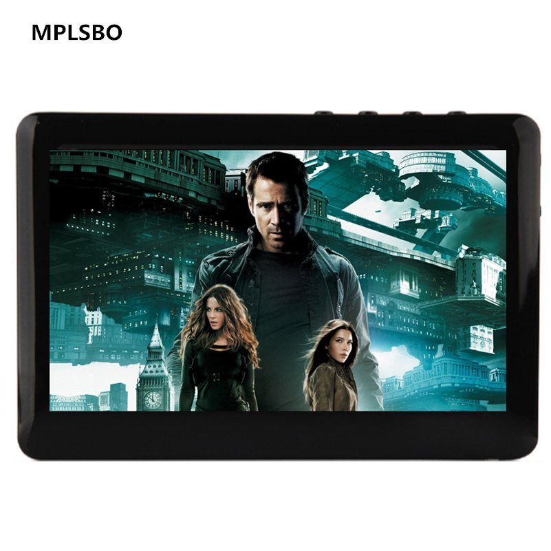 MPLSBO Touch Screen 4GB 8GB 4.3'' Mp4 MP5 Video Player Build-in Speaker TV outpu MP3 MP4 Music Player FM Radio Recorder E-book image
