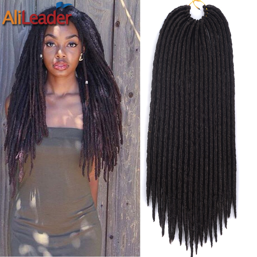 Crochet Braids Goddess Locs : 18 Inch Crochet Goddess Locs Hair Extension Packaging Crochet Braids ...