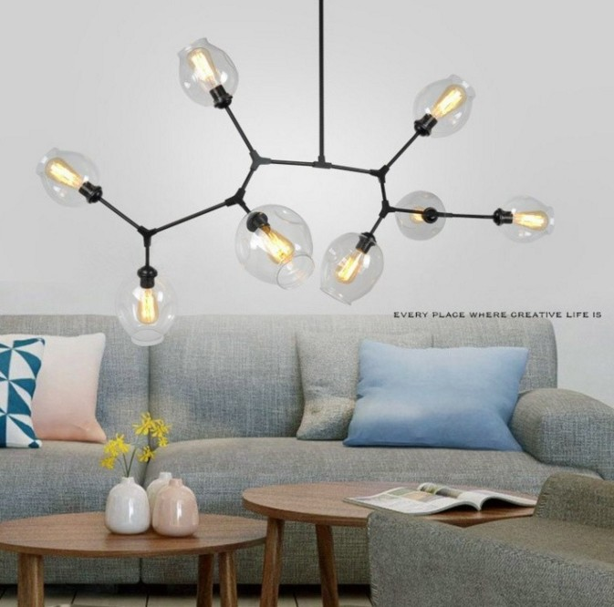 Replica Lindsey Adelman Lamp Globe Branching Bubble Chandelier Glass Ball Lamp Modern Pendant Chandelier Fixture литой диск replica legeartis concept b505 8x18 5x112 d66 6 et30 mbps