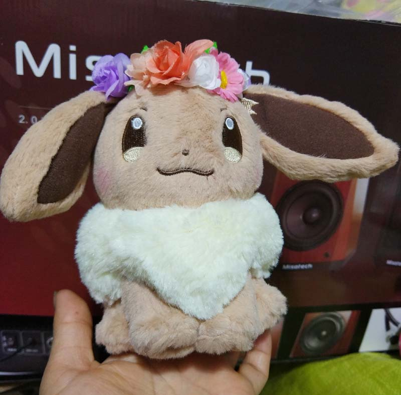 Japan Center Easter 2018 Eevee Plush With Flower Crown Kawaii