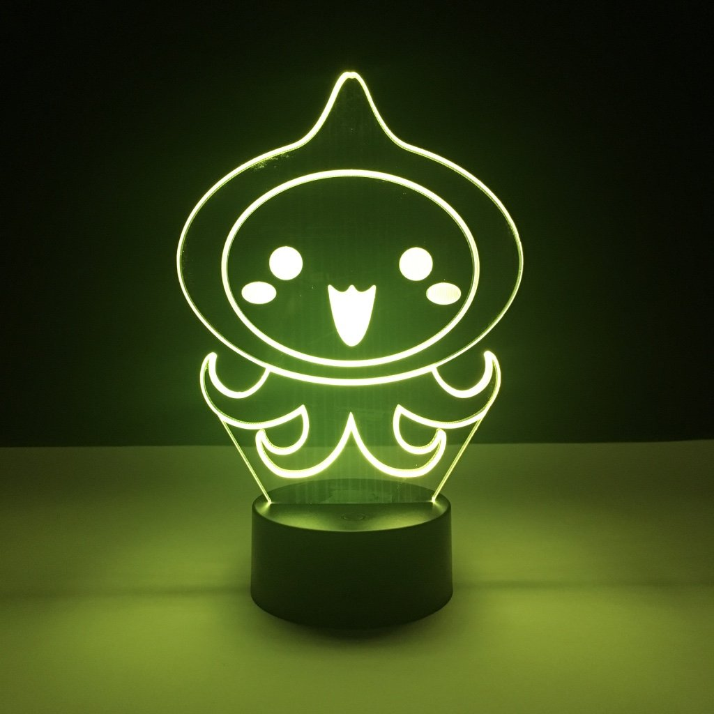 Cool Kids Led Nightlight Pachimari Game Overwatch Night Light For Children's Bedroom Decoration Light Drop Ship Led Night Lamp