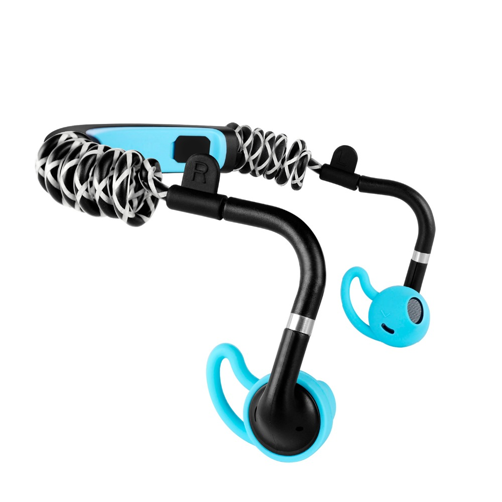 S.Wear Stick Wireless Headphones Water proof Stereo Bluetooth Sports Headset with mic For Running Cycling Tranning Earphones