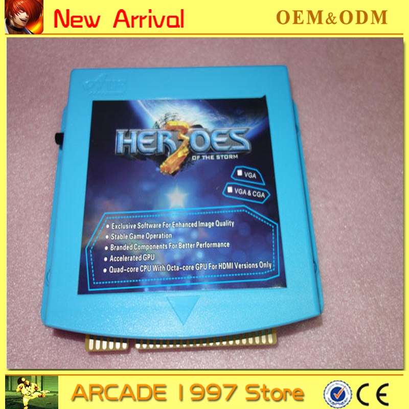 Free shipping 1pc 645 in 1 Pandora 4 storm hero 3 series game multi game board CGA & HD output for Arcade Game Cabinet цена