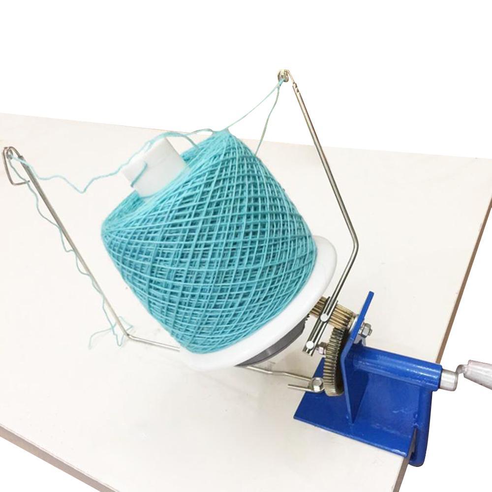 Wool Yarn Hand Operated Rotating Ball Iron Winding Machine Winder In Box Size Hand-Operated Yarn Ball For Winder Household