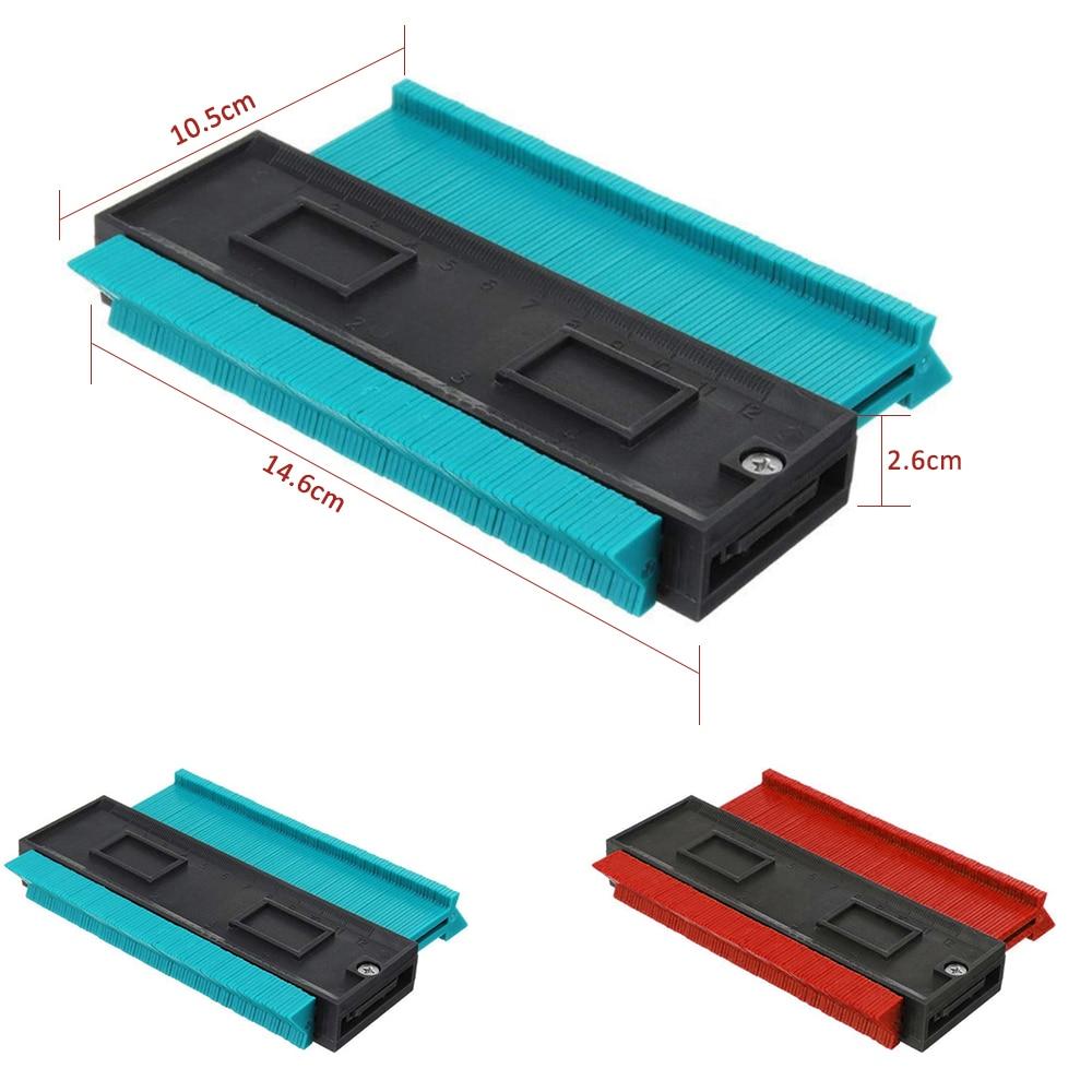 Irregular Contours Gauge Arc Ruler Plastic Gauge Contour Profile Scale Template Curvature Scale Tiling Laminate General Tools