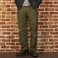 2016 new bronson og-107 male military style straight loose cut casual vintage long trousers pants