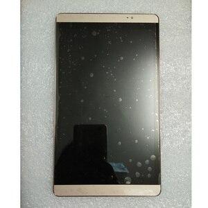 "Image 2 - 8.0 ""100% Getest Voor Huawei Mediapad M2 8.0 M2 801L M2 802L M2 803L Lcd Touch Screen Sensor Digitizer Vergadering + frame"