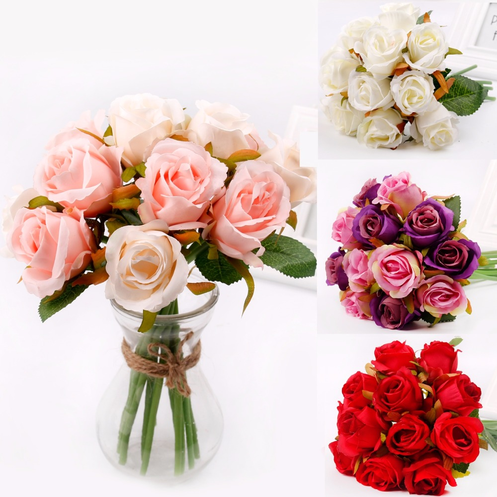 Artificial Flower Bouquet Wedding Decoration