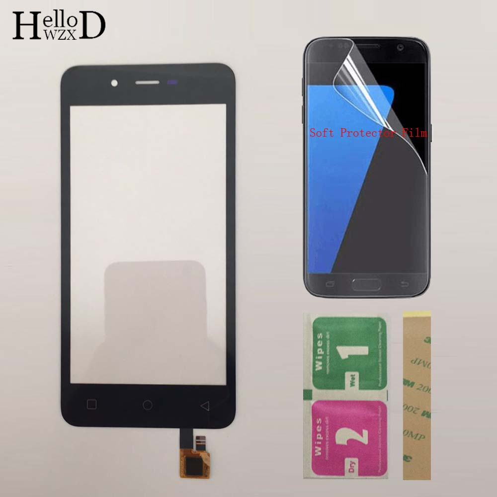 Phone Touch Screen Panel Sensor Front Glass For Micromax Q380 Canvas Spark Q380 Touch Screen Digitizer Touchscreen ProtectorFilm