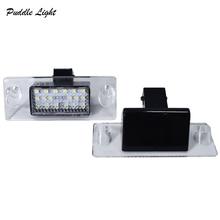 2Pcs LED License Plate Light LED Number Plate Lamp For Audi A3 S3 8L A4 S4 S5 B5 White Error Free