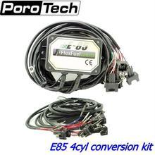 Frete grátis kit de conversão E85 4cyl com Arranque A Frio Asst. e85 biocombustível, carro a álcool, conversor de bioetanol