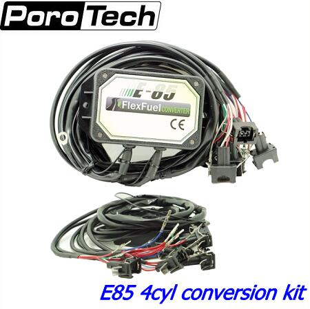 Livraison gratuite E85 kit de conversion 4cyl avec Démarrage À Froid Asst. biocarburants e85, l'éthanol de voiture, bioéthanol convertisseur