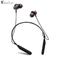 ФОТО qearfun fashion magnetic locker wireless sports bluetooth headphones waterproof metal ear bluetooth headset bass effect