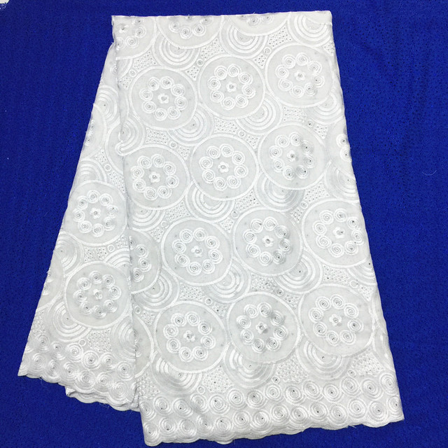 white nigerian lace fabrics cotton lace swiss dry lace high quality sewing  supplies wholesale 5yard  8f37e7f95ded