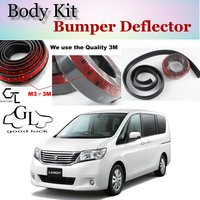 Bumper Lip Deflector Lips For Suzuki Landy Front Spoiler Skirt For TG Friends to Car Tuning View / Body Kit / Strip