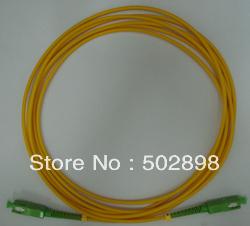 1 unid fibra óptica Patch cord monomodo cable 9/125 SC / APC-SC / APC SC-SC APC Simplex Patchcord 3 mm 10 M envío gratis