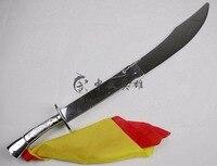 good quality plastic folding Tai Chi knife sword, Martial Art Shaolin Kung Fu training equipment with FREE bag wholesale/retails