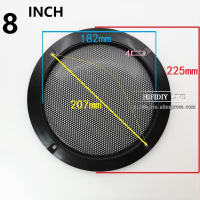 HIFIDIY LIVE 4 5 6 8 10 inch Speaker Net Cover High-grade Car home mesh enclosure speakers Plastic Frame Metal iron wire grilles